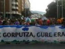 Miles de personas reivindican en Pamplona «el derecho al aborto»