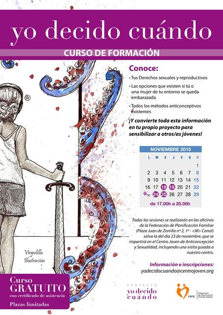 YO DECIDO CUÁNDO - CARTEL CURSO Web grande