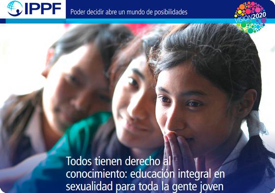 Todos tienen derecho al conocimiento: educación integral en sexualidad para toda la gente joven