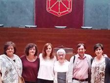 En el Parlamento de Navarra