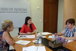 La Consejera de Sanidad de la Comunidad Valenciana intercambia propuestas con la FPFE