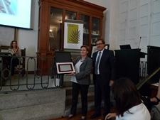 La Fundación Española de Contracepción premia a Isabel Serrano por toda su trayectoria