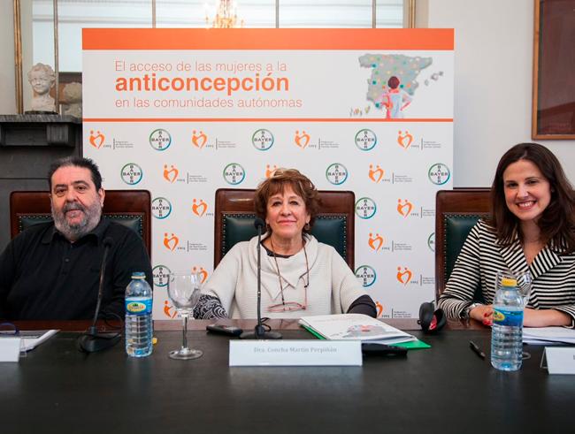 Informe sobre el acceso de las mujeres a la anticoncepción en las comunidades autónomas