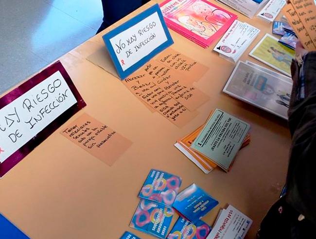 prueba rápida de detección de anticuerpos del VIH en Albacete