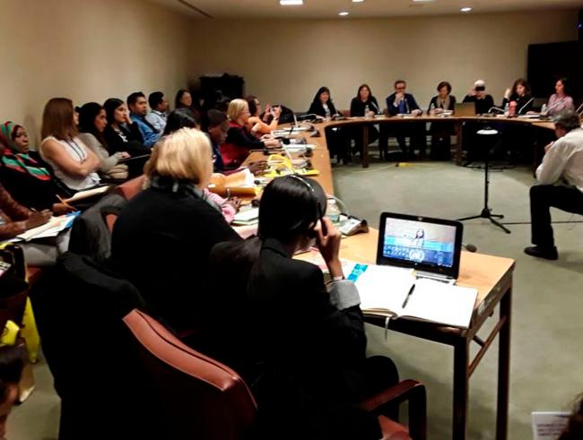 Condición Social y Jurídica de la Mujer de Naciones Unidas CSW61