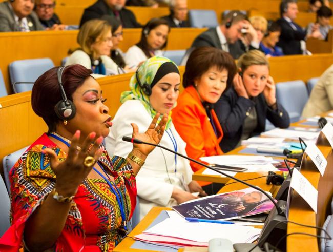 Parlamentarias/os piden al G7 que proteja a mujeres y niñas migrantes