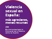 Violencia sexual: más agresiones, menos recursos. #25N