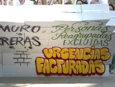 En la calle y por carta: exigimos que se restituya el derecho de todas las personas a la atención sanitaria