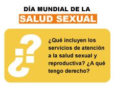 Día Mundial de la Salud Sexual: Qué debes saber sobre los servicios de salud sexual y reproductiva