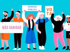 Nos sumamos al manifiesto por la defensa de la Sanidad Pública en la Comunidad de Madrid