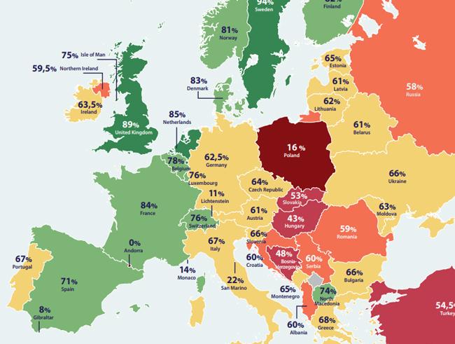 Atlas de Políticas Europeas sobre Aborto